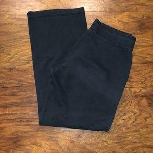Nike Faded Black Cotton Sweatpants